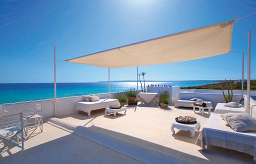 10 Punto 7 roof terrace, Formentera, Spain