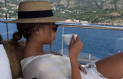 Beyonce shares the magic of chartering a superyacht with her millions of followers photo 10