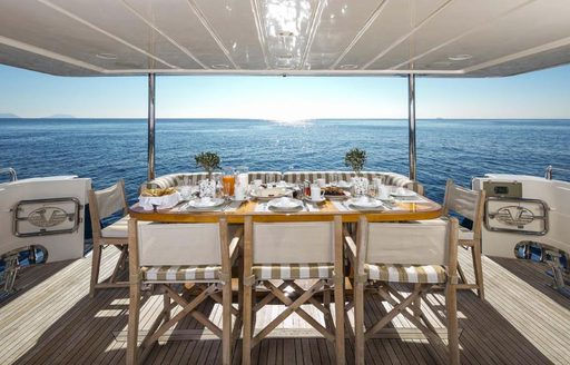 5 Luxury Yachts Open For Charter in the Greek Isles This Summer photo 8