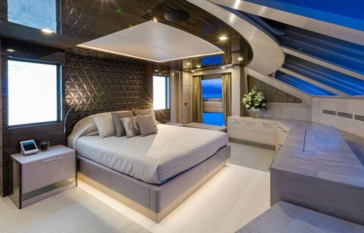 Motor yacht EDESIA's suite