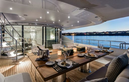 A First Look At The Refit Of Charter Yacht DESTINY photo 7
