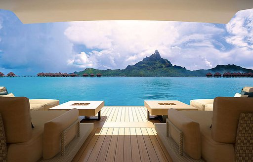 New renderings paint a picture of serenity aboard 88m megayacht 'Illusion Plus' photo 11
