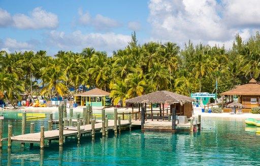 Piers in Bahamas