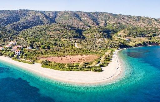 Alonissos beach in Greece