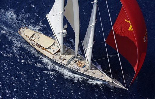sailing yacht ATHOS to compete at the Palma Superyacht Cup