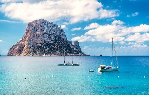 Ibizan unihabited island of Es Vedra