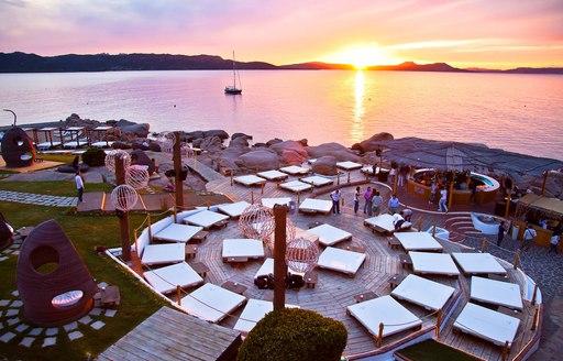 sunset at Phi Beach, Sardinia
