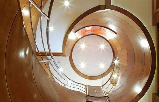 Foyer onboard MY Harmony III