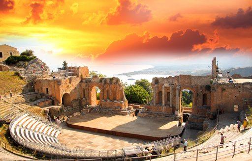Amphitheatre in Croatia