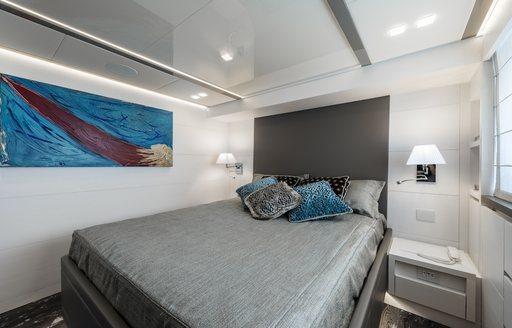 Main cabin on luxury yacht SANDS