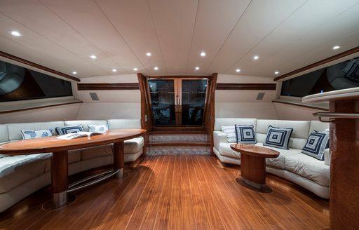 thandeka yacht seating area