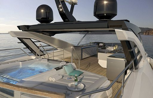 Brand new to the fleet: recently launched 27m Sunseeker Quid Nunc now available for yacht charters around the Balearics photo 3