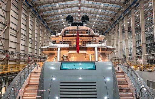 Bilgin launches largest Turkish-built superyacht: 80m TATIANA  photo 3
