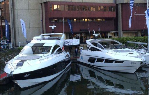 YachtCharterFleet Attends The London Yacht, Jet & Prestige Car Show  photo 3