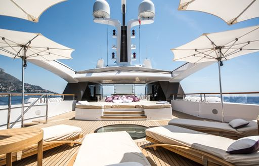 Seychelles yacht charter special offered by 60m luxury yacht 'St David' photo 14