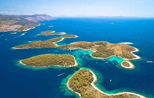 Pakleni Otoci islands in Croatia