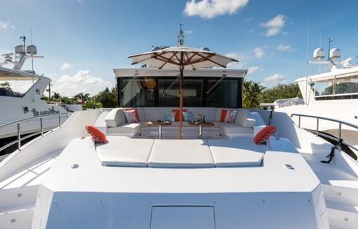 day one yacht sundeck