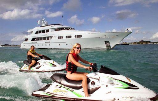 yacht charter jet skis superyacht atittude