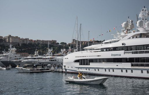 superyacht HOME at the Monaco Yacht SHow 2017