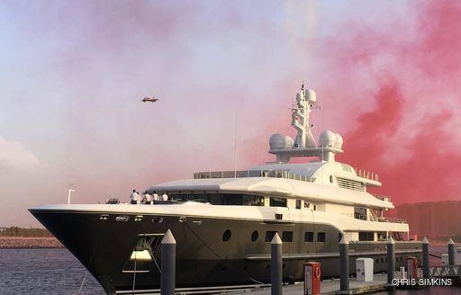 Superyachts Flock to the Abu Dhabi Grand Prix 2016 photo 5
