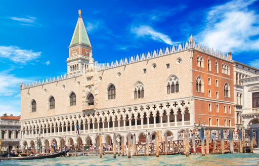 The Doge's Palace from the Grand Canal in Venice