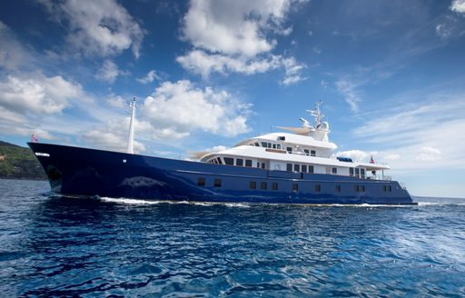 Expedition yacht Northern Sun cruising on charter in Thailand waters