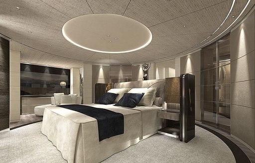 VIP suite onboard MY Severin's