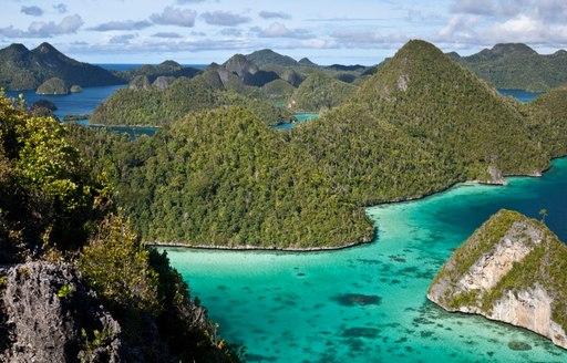 The islands of Raja Ampat are a perfect winter escape