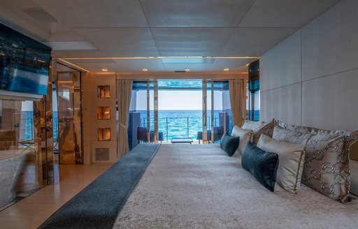 Master suite onboard MY LEL