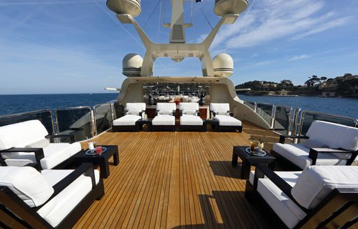 Charter yacht BASH stars in 'World's Most Luxurious Yachts' documentary photo 7
