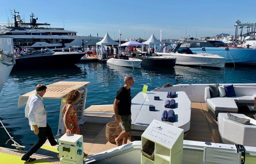 People at Cannes Yachting Festival 2019