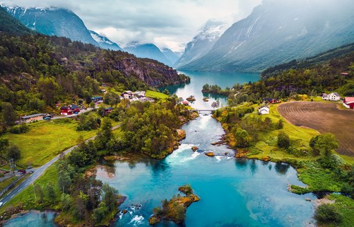 town in norway at the end of fjord