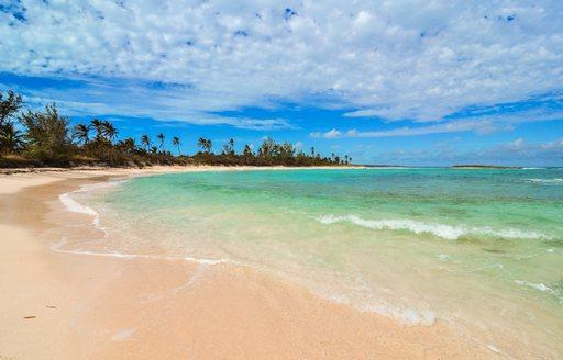 beautiful deserted beach in Eleuthera