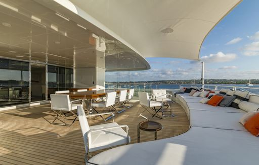 62m Superyacht RoMa offers 15% charter discount in the Mediterranean photo 6