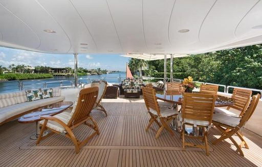 Benetti superyacht SIETE to charter in the Bahamas over the holidays photo 3