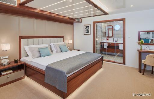 Stateroom onboard SY Corsario