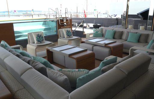 utopia iv pool and lounge area