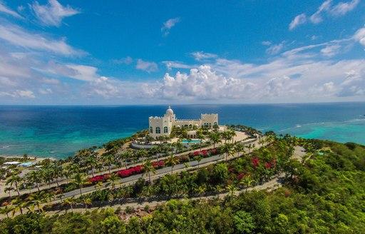Greenery in St Croix US Virgin Islands