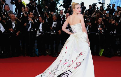Elle Fanning at the Cannes Film Festival 2017