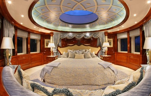 Master suite onboard St David