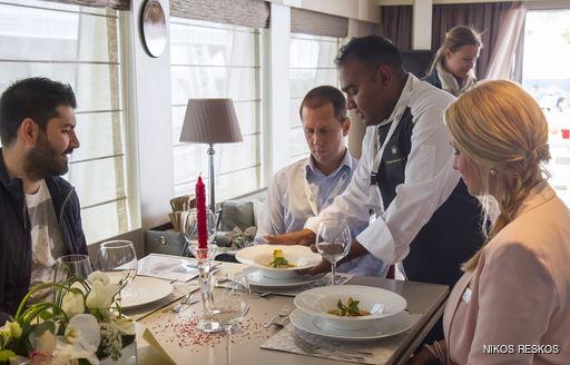 AURORA Chef serving up his winning dish