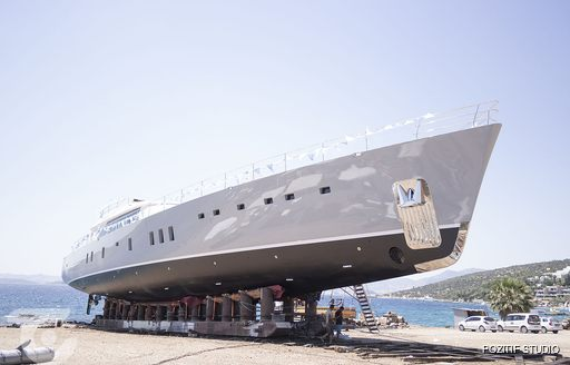 Luxury yacht All About U 2 hitting the waters in Bodrum