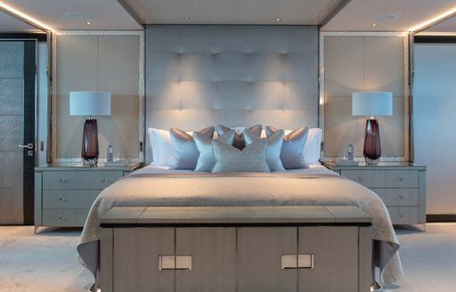 Master Suite onboard MY North Star