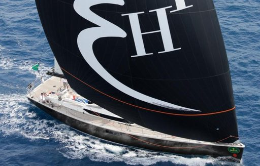 sailing yacht PH3 makes its return to Les Voiles de Saint Barth