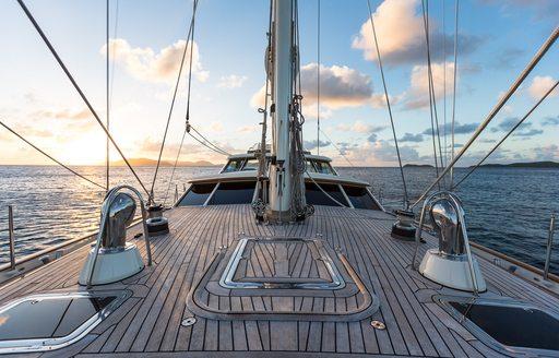 Exterior areas of sailing yacht MARAE