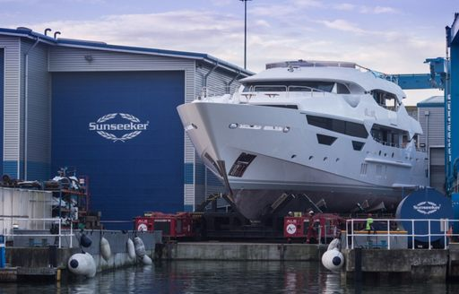 First Glimpse of New Motor Yacht 'Princess AVK' Before She Hits Charter Market  photo 3