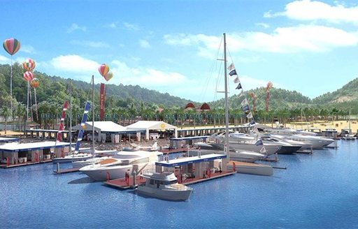Designs for the 2015 SO! HAINAN superyacht event