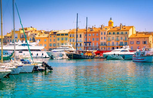 Saint Tropez on the French Riviera