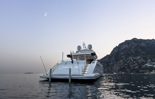 Motor yacht Moonraker is new to to the charter fleet this year