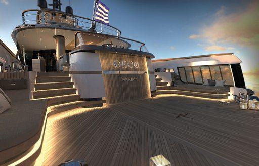 geco luxury yacht beach club